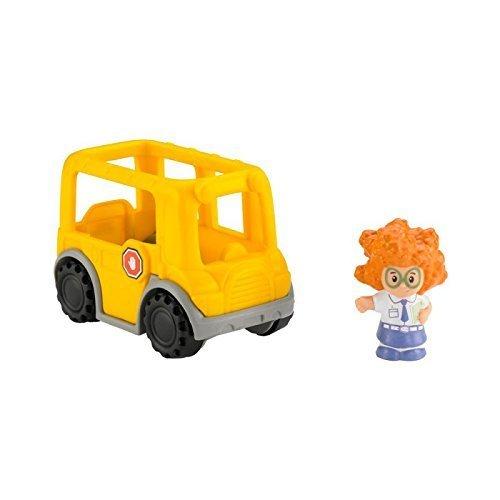 Fisher Price Little People Wheelies Sofie and School Bus
