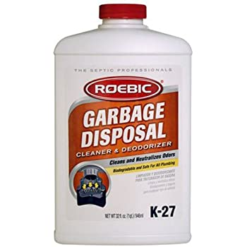 Roebic K 27 Q 32 Ounce Garbage Disposal Cleaner Amazon Com
