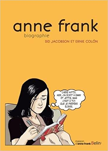 anne frank biographie amazonca jacobson sid books - Anne Frank Lebenslauf