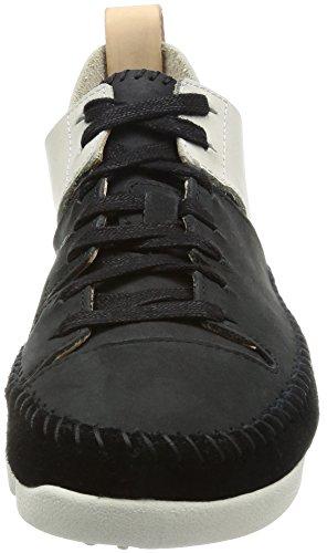 Eu Combi Sneakers Noir black 35 Clarks Femme Basses Beige 5 Flex Nbk maple Trigenic q7vTvZz