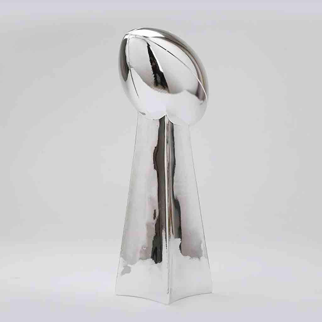 DGSFES Troph/ée de Football du Super Bowl Champions League Rugby Fan Souvenir de la galvanoplastie Artisanat Mod/èle de Reproduction de r/ésine Amateurs de Cadeaux en diff/érentes Tailles