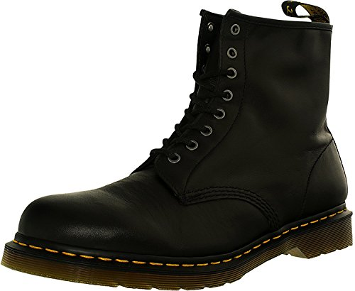 Dr. Martens Men's 1460 Re-Invented 8 Eye Lace Up Boot,Black Nappa Leather,8 UK (9 M US Mens) (Eye Boot Leather Boots)