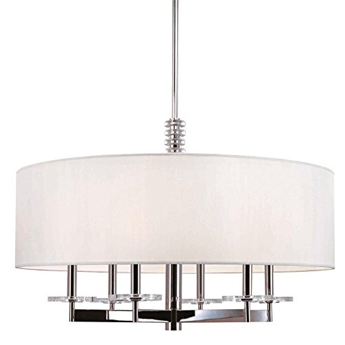 - Hudson Valley Lighting 8830-PN Six Light Chandelier 3