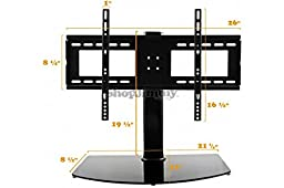 ShopJimmy Universal TV Stand / Base + Wall Mount for 37\
