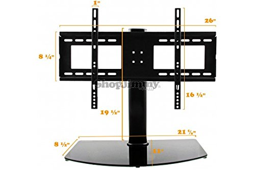 shopjimmy universal tv stand base wall mount for 37 55 inch flat screen tvs buy online. Black Bedroom Furniture Sets. Home Design Ideas