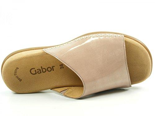 Gabor 43-705 Zuecos de material sintético mujer Rosa