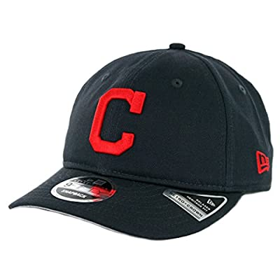 New Era 9Fifty Cleveland Indians Team Choice Retro Snapback Hat (DN) Men's Cap