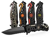 3-in-1 Carbon Fiber Tactical Knife for Emergency