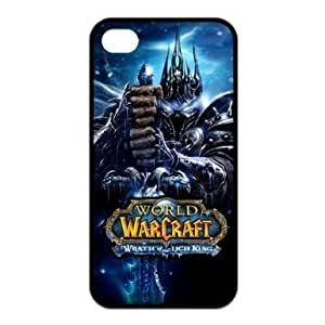 World of Warcraft Spieler Serie Wrath of the Lich King-Personalisierte Water Proof Iphone 4 / 4S Silikon Tasche