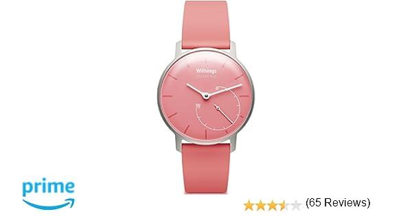 Withings Aktivitätstracker Pop Smart Watch Coral 3700546700910 ...
