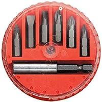Jogo De Bits E Adaptador Magnético Para Bits, Aço 45x, 7 Peças Mtx