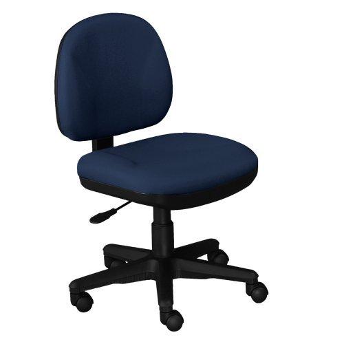 Armless Fabric Task Chair