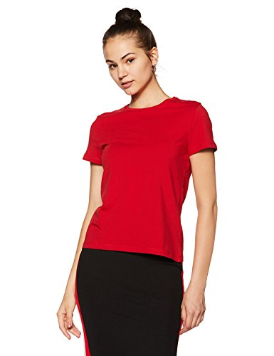 41tmHG9hZBL Amazon Brand - Symbol Women's Regular Fit T-Shirt