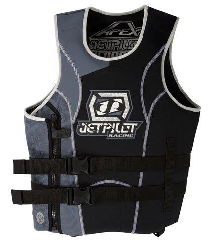 Jet Pilot Apex SE Neoprene Side Entry PFD Life Vest (Grey, XS/S)