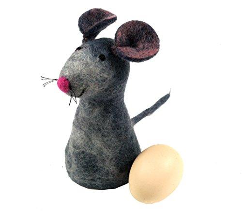Filz Eierwärmer Maus / Filzdeko