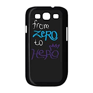 From Zero To Hero Case Cover Protector for Samsung Galaxy S3 I9300 by ruishername