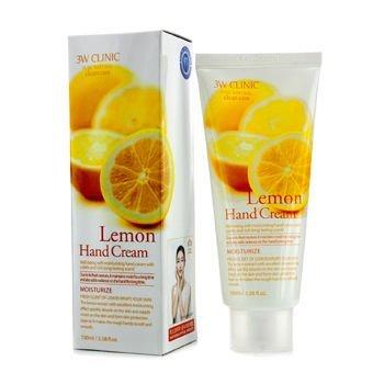 3W Clinic Hand Cream, Lemon, 3.38 Ounce (Cream Lemon Watkins Shea Butter)