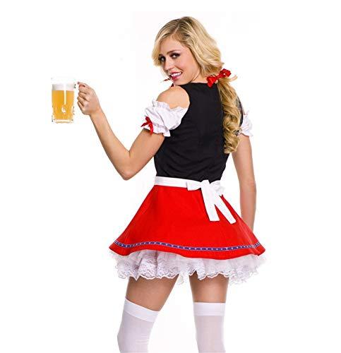 Abbigliamento Signorina di Festa Performance Donne Gala Sera Vestito abbigliamento Halloween AGLT red Natale Femmina Cosplay Capi xqYBOwS4w