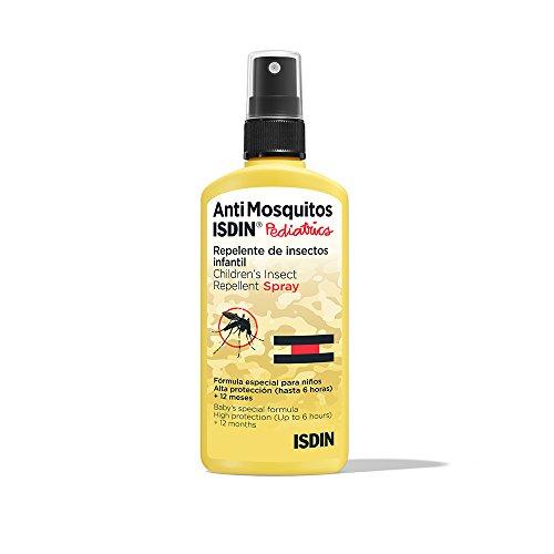 🥇 Isdin Anti Mosquitos Pediatrics – Repelente de Mosquitos Infantil para la Prevención de Picaduras 1 x 100ml