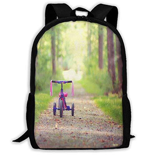 - Backpack For Girls Boys Mood Bike Children's Pink Tree Zipper School Bookbag Daypack Travel Rucksack Gym Bag For Man Women