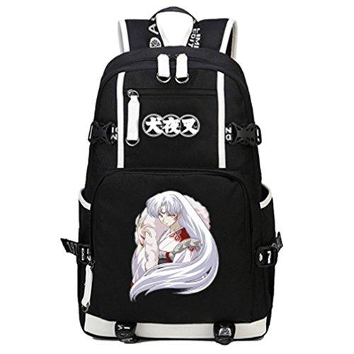 YOYOSHome Anime Inuyasha Cosplay Daypack Bookbag College Laptop Bag Backpack School Bag (1)