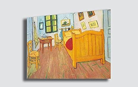 Quadro VINCENT VAN GOGH La camera di Van Gogh ad Arles ...