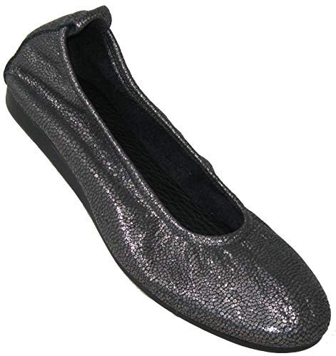 Arche Women's 'Laius' Ballet Flat in Pebble Grain Leather
