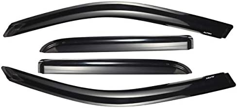 Amazon Com Autex Tape On Window Deflectors Compatible With Buick Rainier 2004 2007 Compatible With Chevy Trailblazer 2002 2009 Compatible With Isuzu Ascender 2004 2008 Window Visor Automotive