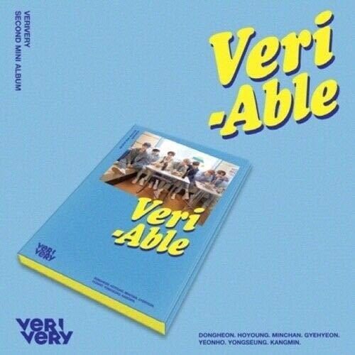 VeriVery - [Veri-Able] 2nd Mini Album Kihno Kit+32p PhotoCard+4p Post Card+Tracking ()