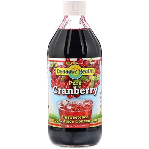 Dynamic Health - Cranberry Juice Concentrate, 16 oz liquid (Dynamic Health Cranberry Juice Concentrate 16 Oz)