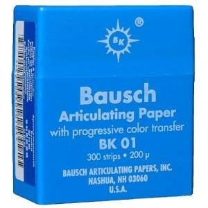 Bausch - Articulating Paper BK-01 by BAUSCH