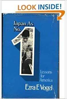 image for japan as number one: lessons for america