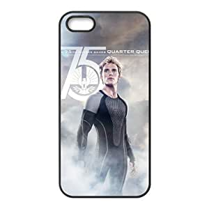 The Hunger Games Catching Fire Mockingjay Cool Custom Rubber Back Case Cover for ipod touch 5 ipod touch 5