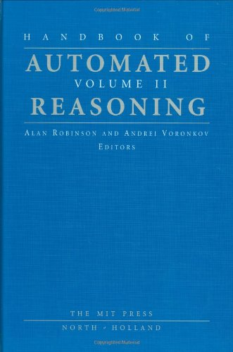 Read Online Handbook of Automated Reasoning pdf