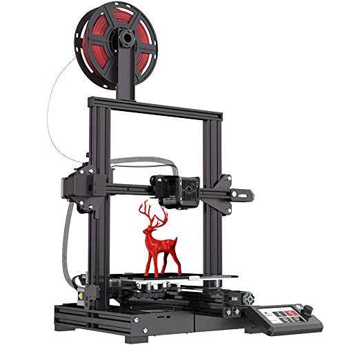 Voxelab Aquila 3D Printer, DIY FDM All Metal 3D Printers Kit with Removable Carborundum Glass Platform, Resume Printing…