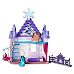 Disney Frozen - Royal Chambers Playset inc Elsa doll & acc - Ages 4+