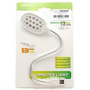USB 13 LED lámpara de luz flexible para portátiles PC portátil