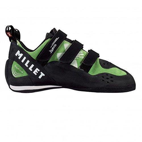Millet Hybrid–Zapatos altos verde/negro tamaño 7