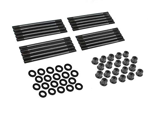 High Performance Cylinder Head Stud Kit 250-4202 for 2003-2007 Ford F250 350 F450 F550 Super Duty 6.0L Diesel PowerStroke - 03-10 Ford E250 350 Van 6.0L - 03-05 Ford Excursion 6.0L -