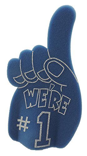We're #1 Game Day Giant Foam Hand BLUE by U.S. Toy