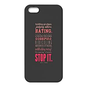 iPhone 5 5s Cell Phone Case Black Stop It Zbyzf