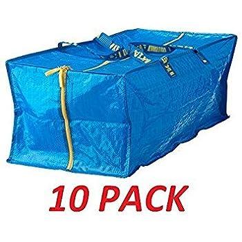 Amazon Com Ikea 10 X Large Blue Frakta Trunk For Trolley