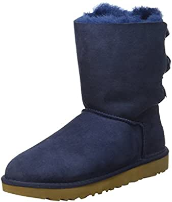 UGG Women's Bailey Bow Boots, Blue, 5 US