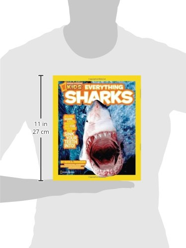 National Geographic Kids Everything Sharks: All the shark facts, photos, and fun that you can sink your teeth into by National Geographic (Image #3)