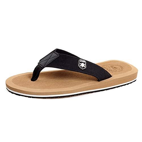 Beach Chaussures Leisure Amoureux Flops Pantoufles Outdoor Flip CS Chaussures Beige antidérapant intérieur été Beige Pzwwp8q7