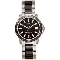 Relógio Vivara Masculino Aço Prateado e Preto - DS13155R2E-1