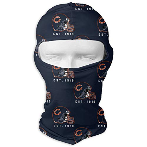 (Sorcerer Custom Chicago Bears Balaclava Full Face Mask Hood Outdoor Sports Hunting Cycling Motorcyle Tactical Ski Face Cover Helmet)