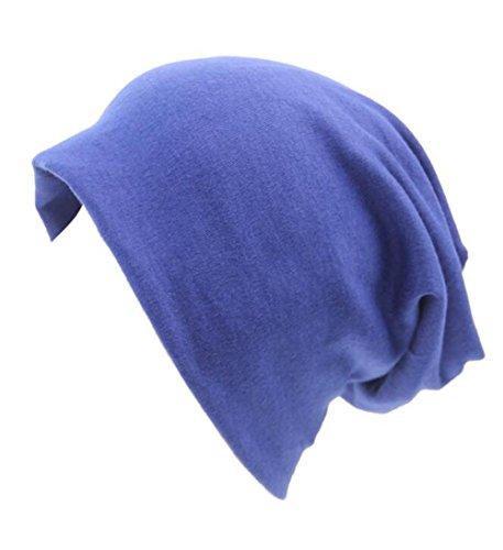 Chicago Wool Cubs Jacket - Century Star Women Men Elastic Cotton Pattern Hip Hop Beanie Outdoor Hat Cap Royal Blue