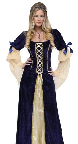 Maiden Faire Adult Costumes (Fun World Women's Maiden Faire Costume, Multi, Small)