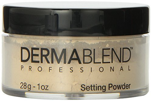 Dermablend Loose Setting Powder, Cool Beige, 1 Ounce by Dermablend